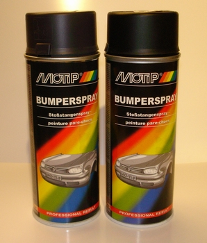 Motip Bumperspray Zwart