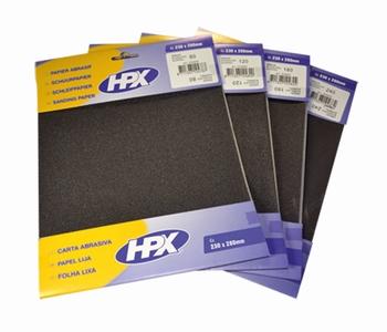 HPX Blister schuurpapier korrel 80/120/180