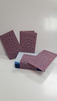 Blue Line Schuurvel voor handblok P360