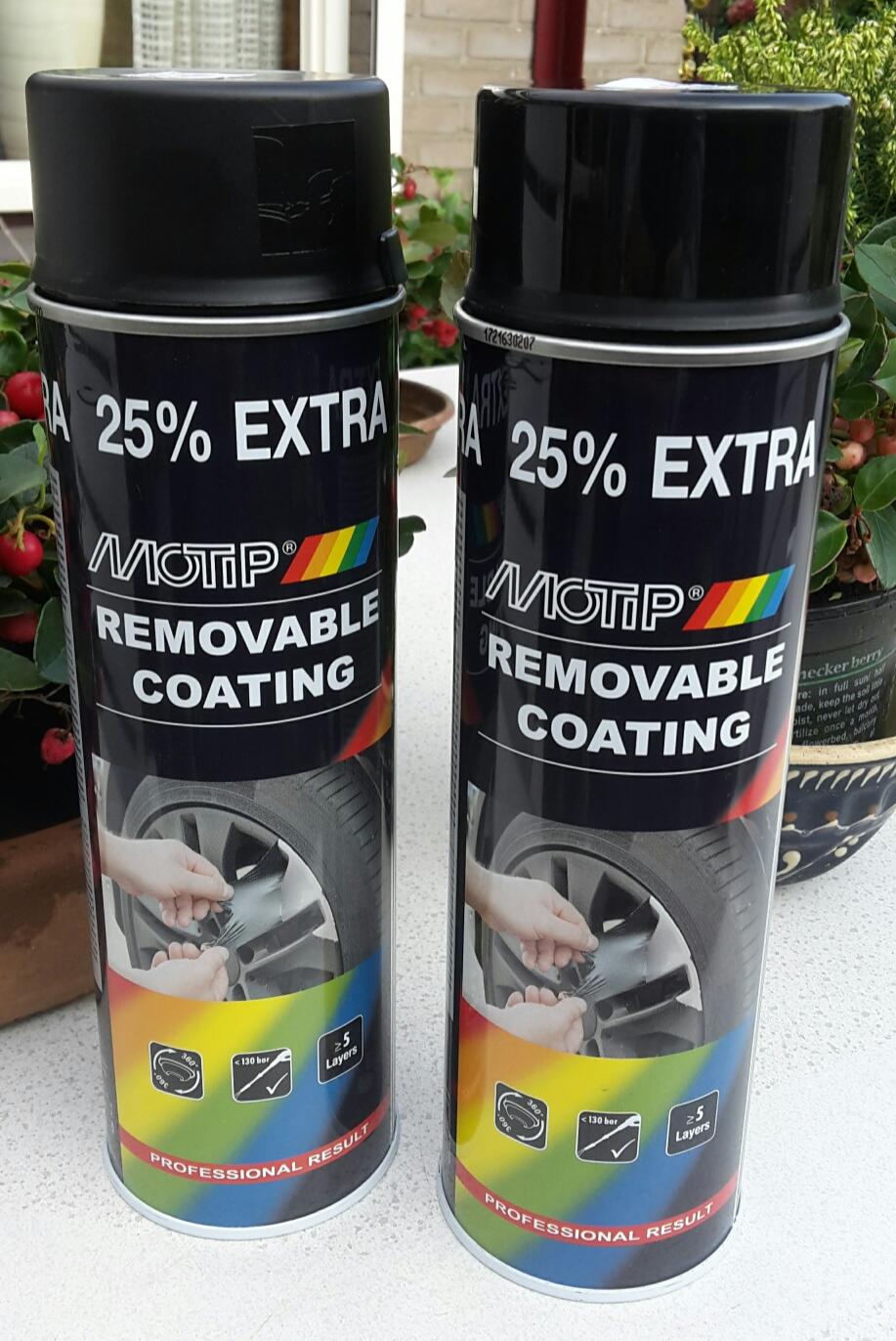 Motip Sprayplast Glans Zwart